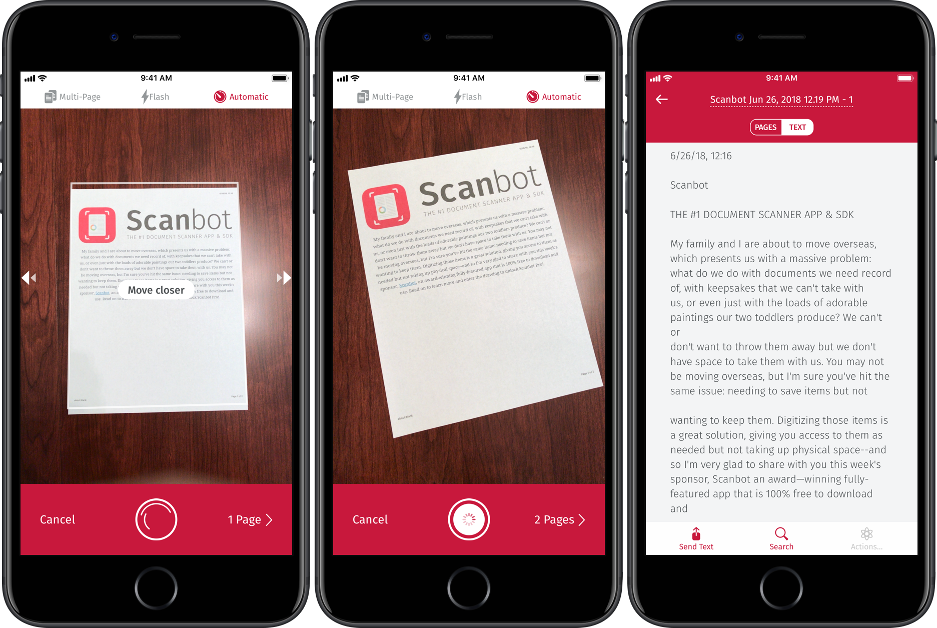 App giveaway: Scanbot is an award-winning scan app with OCR, markup