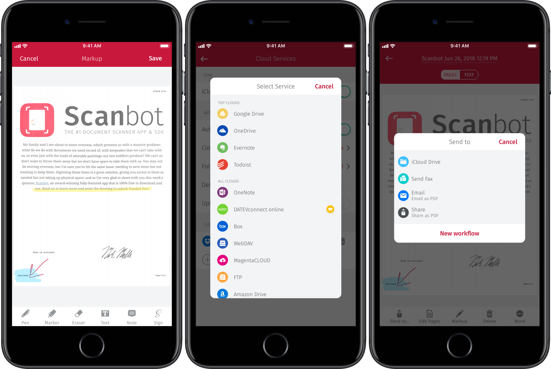 App giveaway: Scanbot is an award-winning scan app with OCR